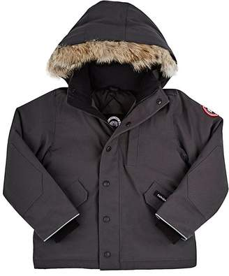 Canada Goose Logan Tech-Fabric Youth Parka $575 thestylecure.com
