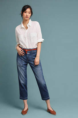 Closed Tony High-Rise Cropped Bootcut Jeans