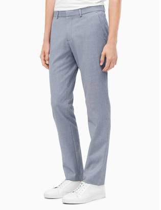 Calvin Klein slim fit infinite seersucker suit pants