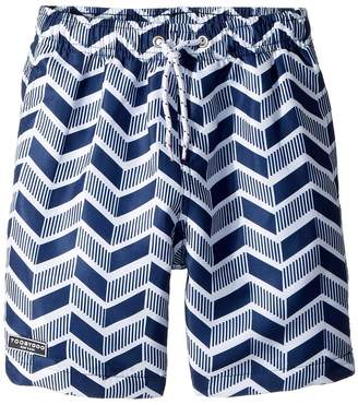 Toobydoo Geo Pattern Swim Shorts Boy's Swimwear