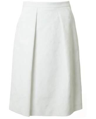 71bf6df4b8 Michael Kors Pocket Pleat Pencil Skirt Colour: WHITE, Size: 10