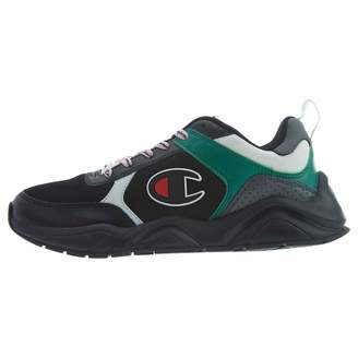 1219b07f4 Champion Mens 93Eighteen Block Casual Fashion Sneakers Black 9.5 Medium (D)