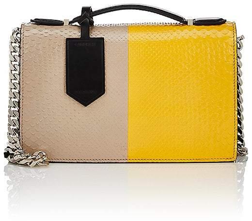 CALVIN KLEIN 205W39NYC Women's Python Chain Shoulder Bag
