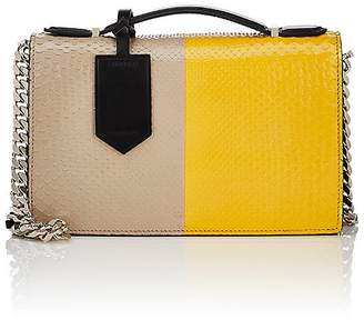 Calvin Klein Women's Python Chain Shoulder Bag