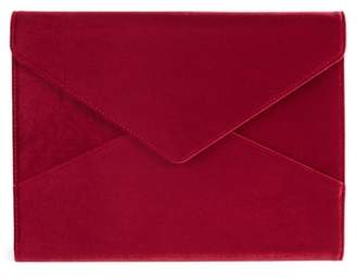 Sonix Red Velvet Laptop Clutch