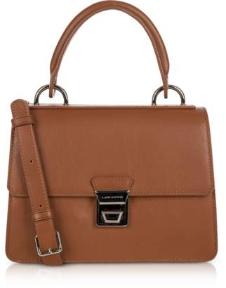 Lancaster Paris Garance Leather Top Handle Shoulder Bag