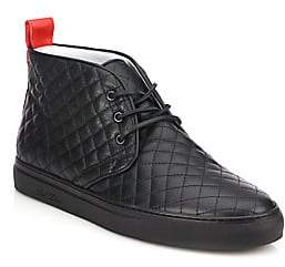 Del Toro Men's Quilted Leather Chukka Sneakers