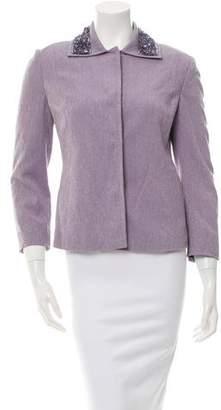 Dolce & Gabbana Textured Embellished Jacket