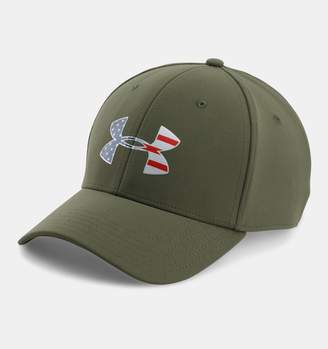 Under Armour Men's UA Freedom Low Crown Stretch Fit Cap