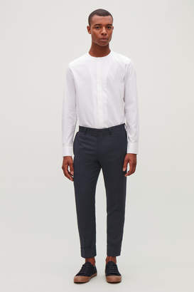 Cos TURN-UP WOOL TROUSERS