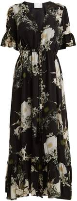Athena PROCOPIOU In The Still Of The Night floral-print silk dress