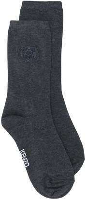Kenzo tiger embroidered socks
