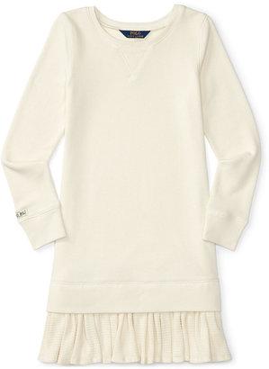 Ralph Lauren Ruffled Dress, Big Girls (7-16) $65 thestylecure.com