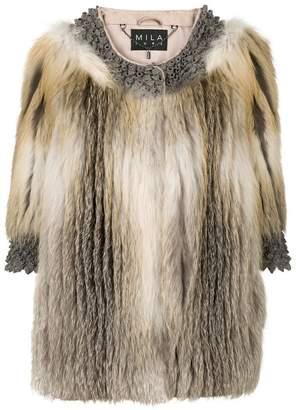 Cara Mila Roxanne fur coat