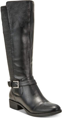 Style&Co. Style & Co Luciaa Riding Boots, Created for Macy's Women's Shoes