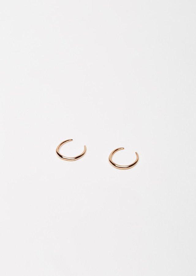Gabriela Artigas Mini Rising Tusk Earrings