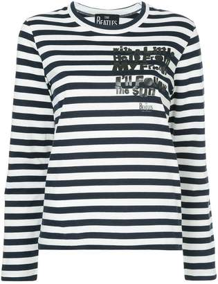 Comme des Garcons striped jersey jumper
