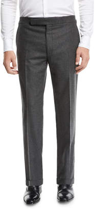 Ralph Lauren Men's Heathered Flannel Trouser Pants