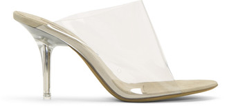 Yeezy Transparent PVC Mules