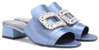 Slipper New Strass satin sandals