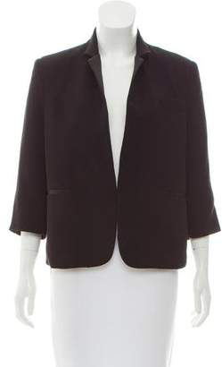 Rachel Comey Silk-Trimmed Notch-Lapel Blazer