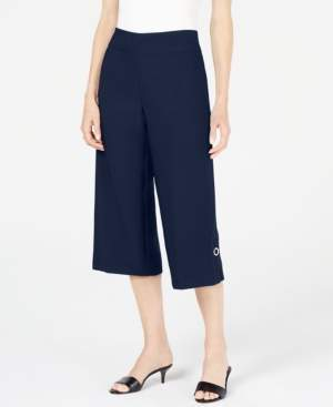 JM Collection Wide-Leg Capri, Created for Macy's