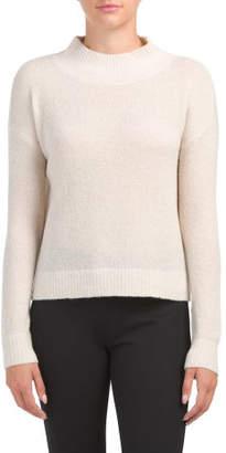 Extrafine Wool Blend Lurex Sweater