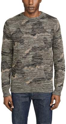 J.Crew J. Crew Wallace & Barnes Camo Print Sweater