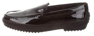 Tod's Patent Leather Platform Loafers w/ Tags