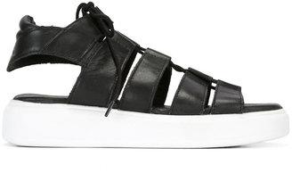 Diesel platform sandals $184.21 thestylecure.com