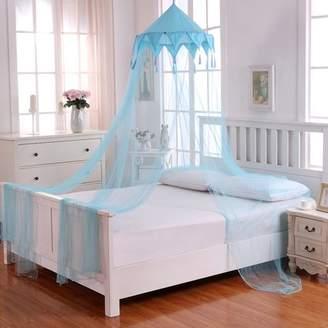 Casablanca Kids Kids Harlequin Collapsible Hoop Sheer Mosquito Net Bed Canopy