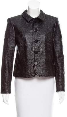 Saint Laurent Coated Structured Jacket