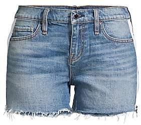 Hudson Jeans Women's Gemma Mid-Rise Denim Cut-Off Shorts