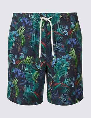 Marks and Spencer Tropical Bird Quick Dry Swim Shorts
