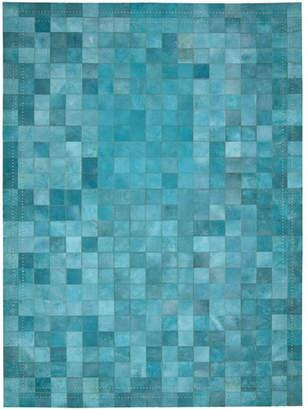 Barclay Butera Lifestyle Medley Hand-Woven Blue Area Rug Rug