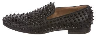 Christian Louboutin Rollerboy Spikes Leather Loafers
