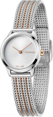 Calvin Klein Minimal Mesh Strap Watch, 24mm