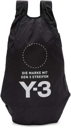 Y-3 Black Yohji Backpack
