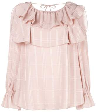 See by Chloe frilled loose blouse