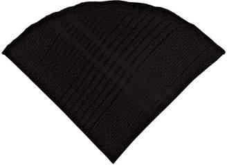 Alexander Olch Men's Plaid Silk Lace Pocket Round