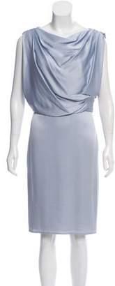 Jason Wu Satin Knee-Length Dress w/ Tags