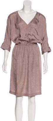 Rachel Comey Silk Textured Midi Dress