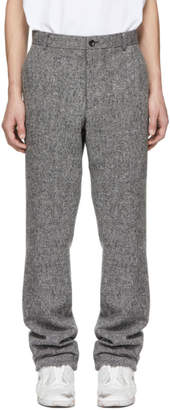 Thom Browne Grey Unconstructed Pocket Chino Trousers