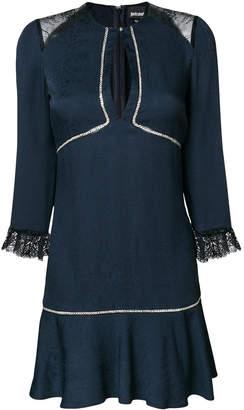 Just Cavalli teardrop short dress