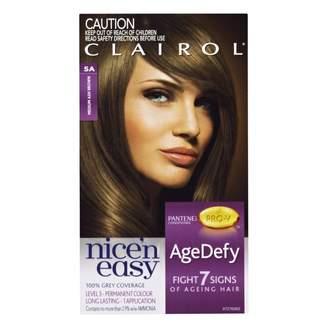 Clairol Nice'n Easy Age Defy Permanent Hair Colour 5A Medium Ash Bro 1 pack
