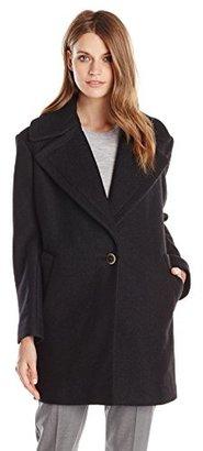 Kensie Women's Wool-Blend Cocoon Coat $163.82 thestylecure.com