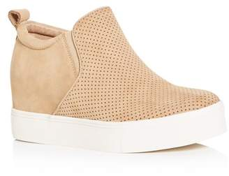 J/Slides Women's Sallie Hidden Wedge Sneaker Booties