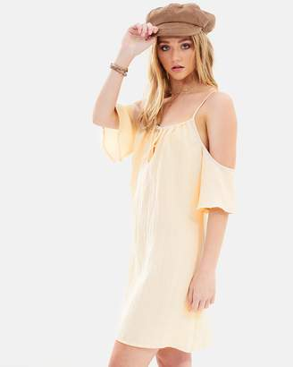 Wild and Free Cold Shoulder Dress