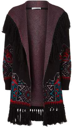 Philosophy di Lorenzo Serafini Tassel Trim Long Cardigan