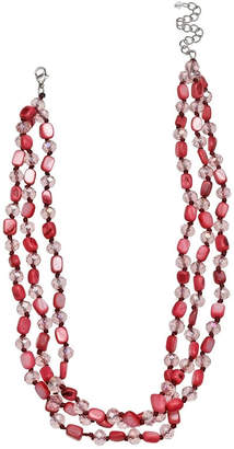 MIXIT Mixit Clr 0318 Brights Table Womens Beaded Necklace